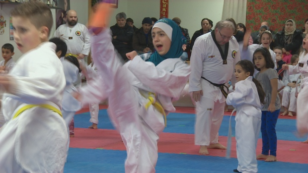 Refugee Children Find Place to Belong in Taekwondo