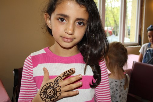 Girl with Henna
