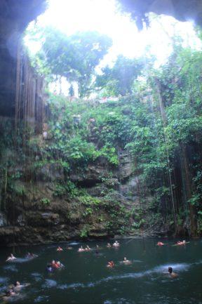 Il-Kil Cenote - Sink Hole near Chichen Itza.