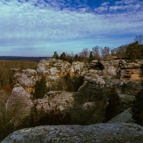 Matthiessen State Park – A day trip after winter storm