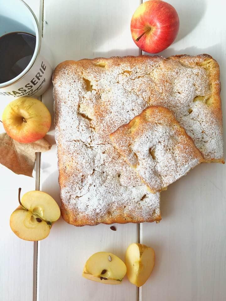 torta di mele alla francese senza burro