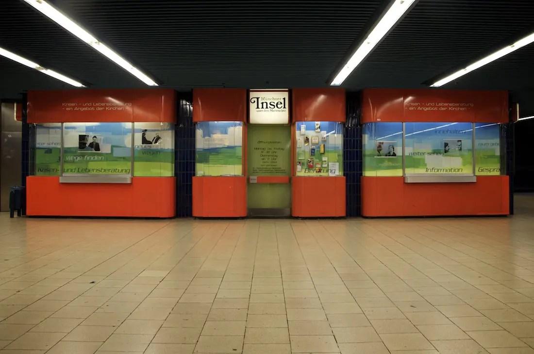 Marienplatz Sperrengeschoss ISARBLOG 10