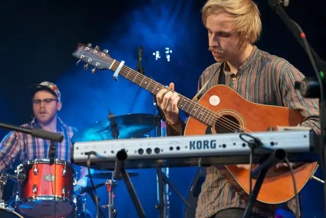 Haight Ashbury aus Glasgow beim Theatron Pfingstfestival 2012 | Foto: Monika Schreiner