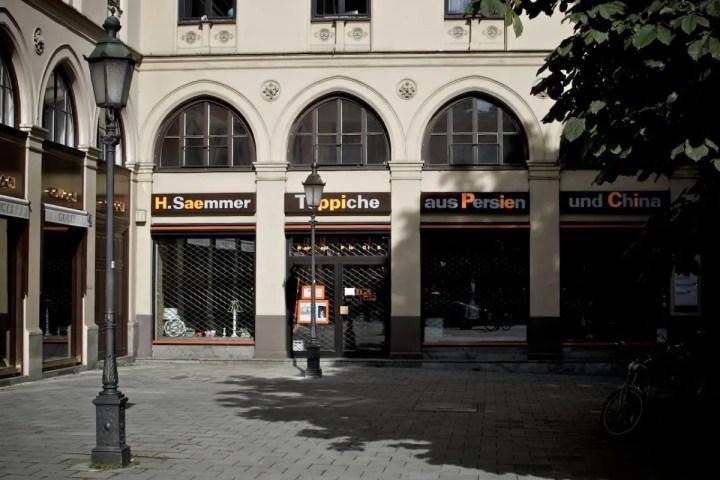 Haeppi Piecis in der Maximilianstraße 33   Foto: Monika Schreiner ISARBLOG