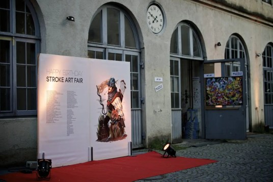 Stroke Art Fair München 2014   Foto: Monika Schreiner