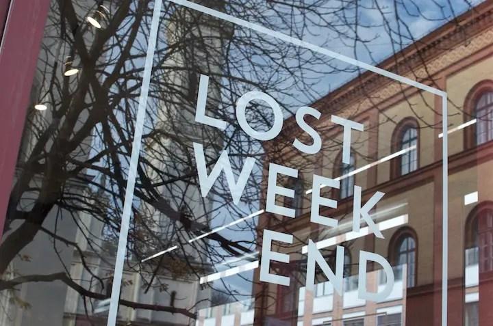 LOST WEEKEND — Das verlorene Wochenende im Univiertel