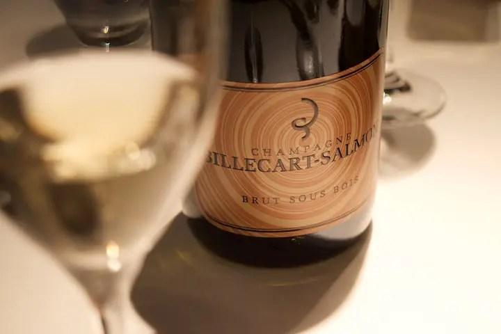 Weinbegleitung zum Hummer: Billecart-Salmon Champagner Cuvee Sous Bois   Foto: ISARBLOG