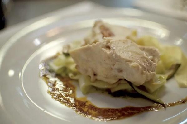 Die Hauptspeise des Abends: Involtini vom Maishuhn | Foto: Monika Schreiner