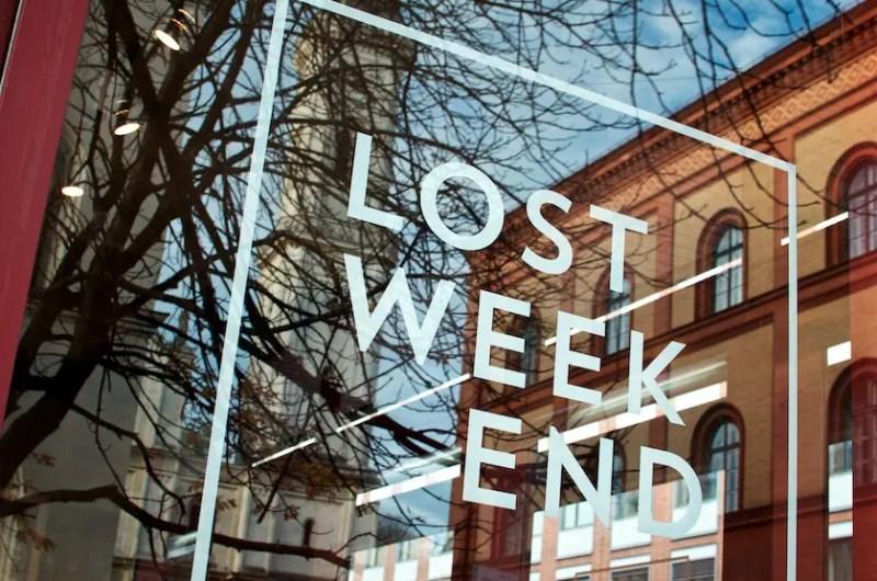 Lost Weekend - Buchhandlung Cafe Schellingstrasse | Foto: Monika Schreiner