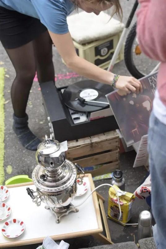 Teeparty auf der Reichenbachstrasse | Foto: Monika Schreiner