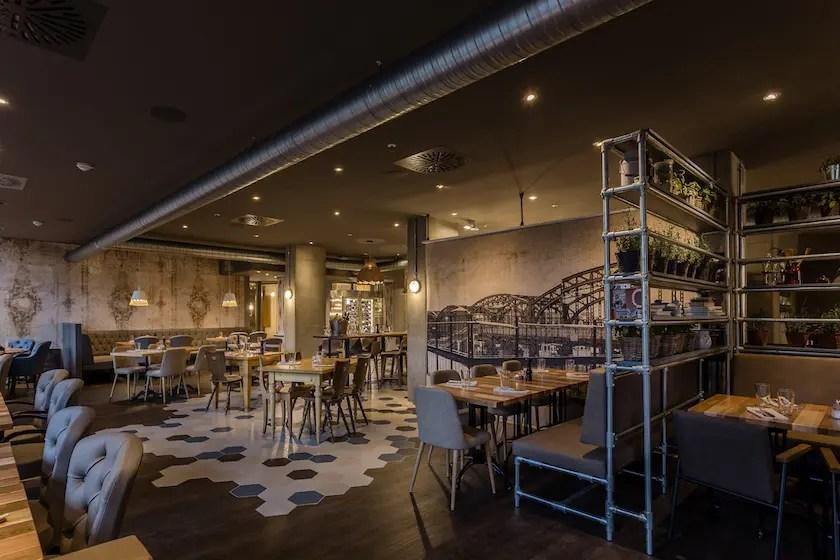 Die Inneneinrichtung des neuen Restaurants | Foto: Westend Factory