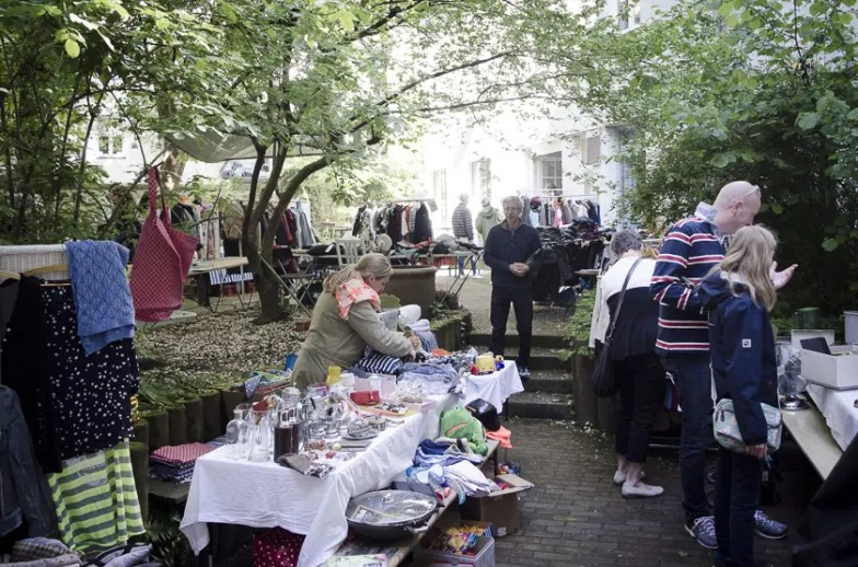 Hofflohmarkt in Haidhausen