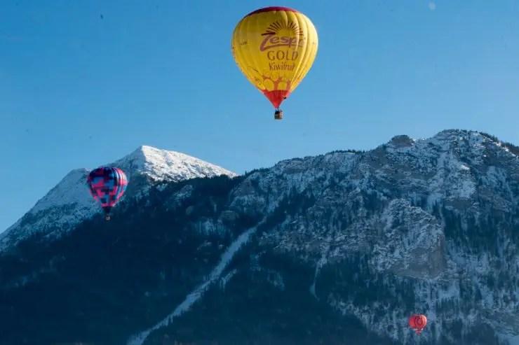 Ballonwochen in Inzell   Foto: Monika Schreiner