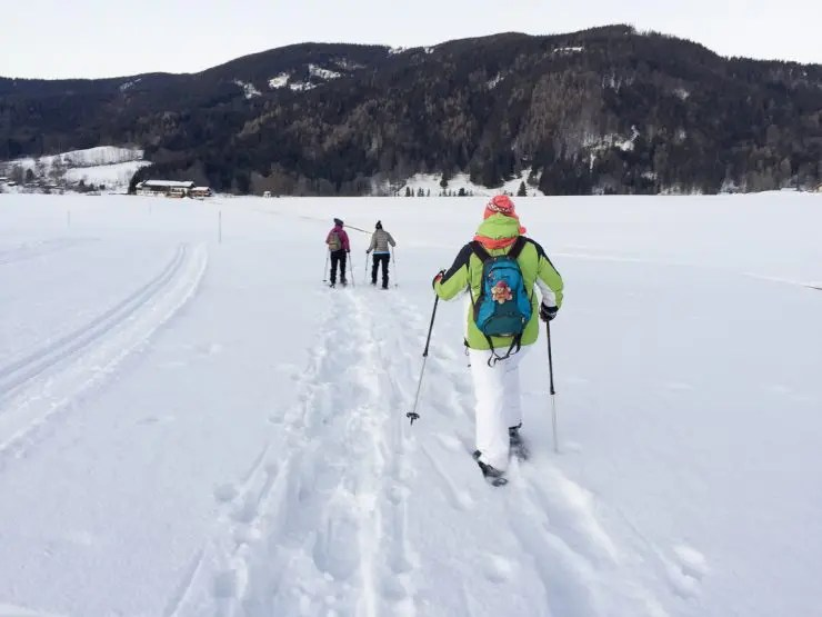 Bei Schneeschuhwandern   Foto: Monika Schreiner ISARBLOG