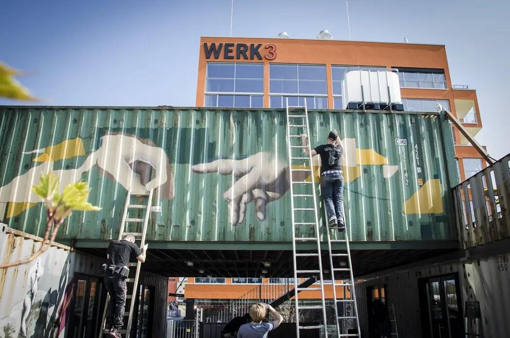 Container Collective im Werksviertel | Foto: ISARBLOG