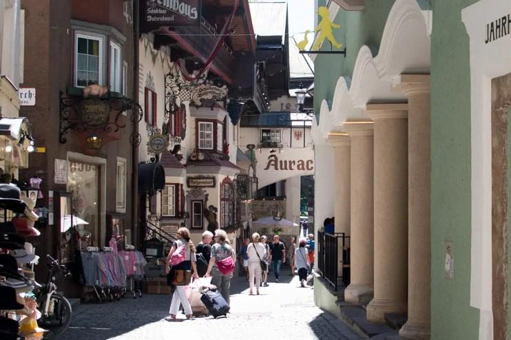 Altstadt Kufstein, Glücktage Kufstein - ISARBLOG