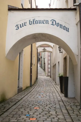 Zur blauen Donau Passau - #WirEntdeckenBayern - ISARBLOG
