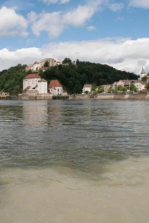 Zusammenfluss von Inn und Donau - #WirEntdeckenBayern - ISARBLOG