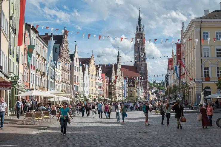 Altstadt Landshut während der Landshuter Hochzeit 2017 - #WirEntdeckenBayern - ISARBLOG