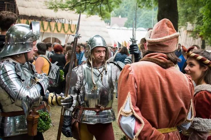 Ritter auf der Lanshuter Hochzeit 2017 - #WirEntdeckenBayern - ISARBLOG