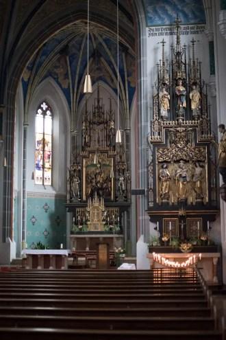 In der Kirche von Übersee   Foto: Monika Schreiner