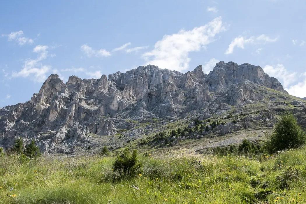 Latemar Gebirge im Eggental Val D'Ega - ISARBLOG