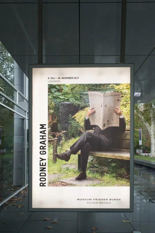 Rodney Graham im Museum Frieder Burda   Foto: Monika Schreiner