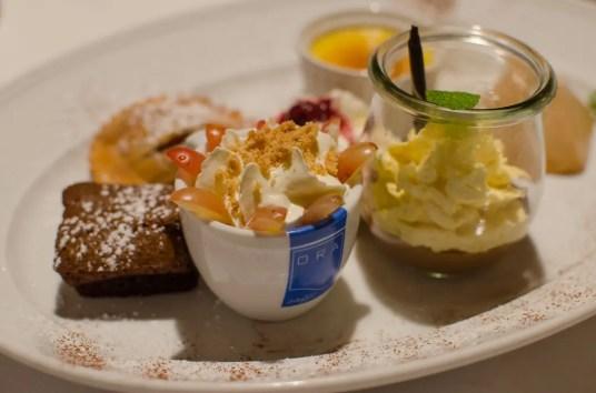 Dessertvariation in der Blauen Quelle