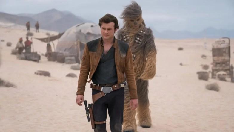 Solo A Star wars Story  - Han Solo & Chebacca