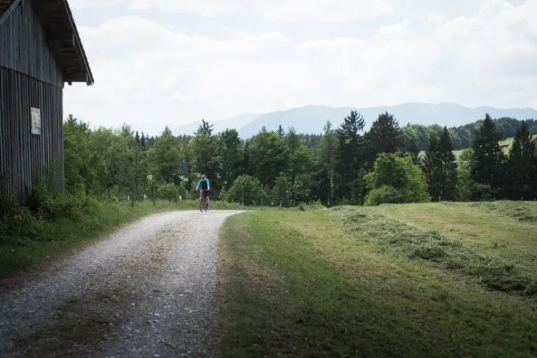 Isarradweg Isar Radweg Radltour Mittenwald Lenggries - ISARBLOG