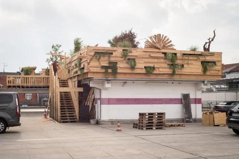 Dachgarten Parkhaus am Stachus München Rooftop - ISARBLOG Monika Schreiner