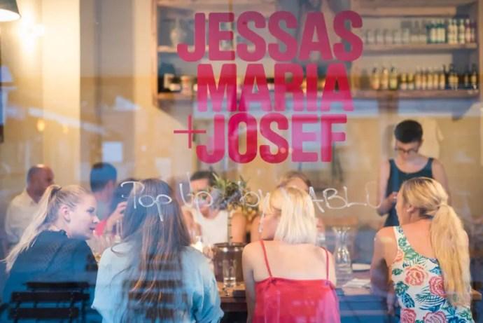 Jessas Maria urlencodedmlaplussign Josef Popup Viktualienmarkt - ISARBLOG