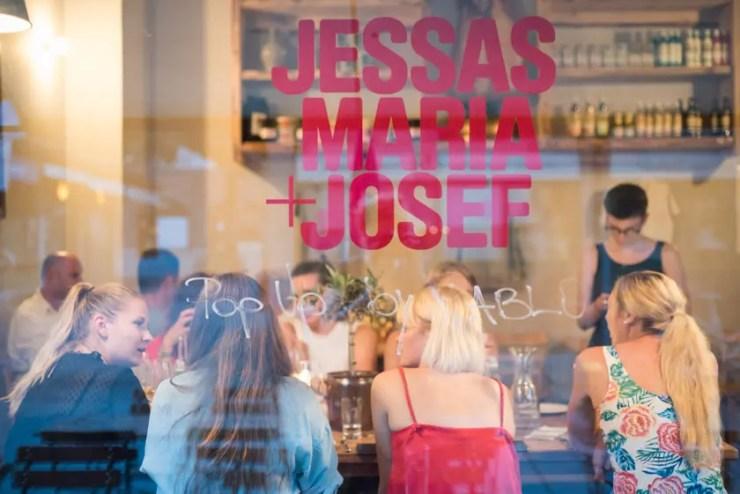 Jessas Maria + Josef Popup Viktualienmarkt - ISARBLOG