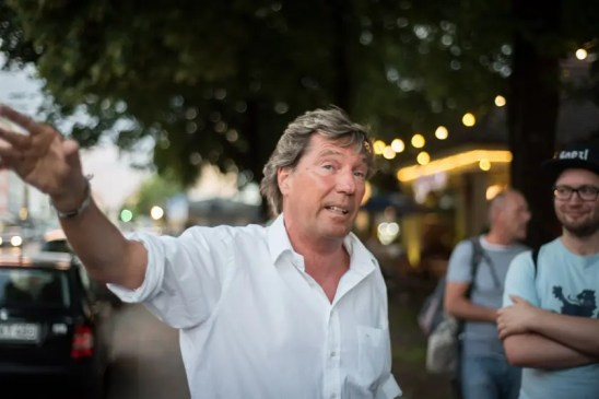 In Schwabing dahoam: Stefan Schneider | Foto: Monika Schreiner