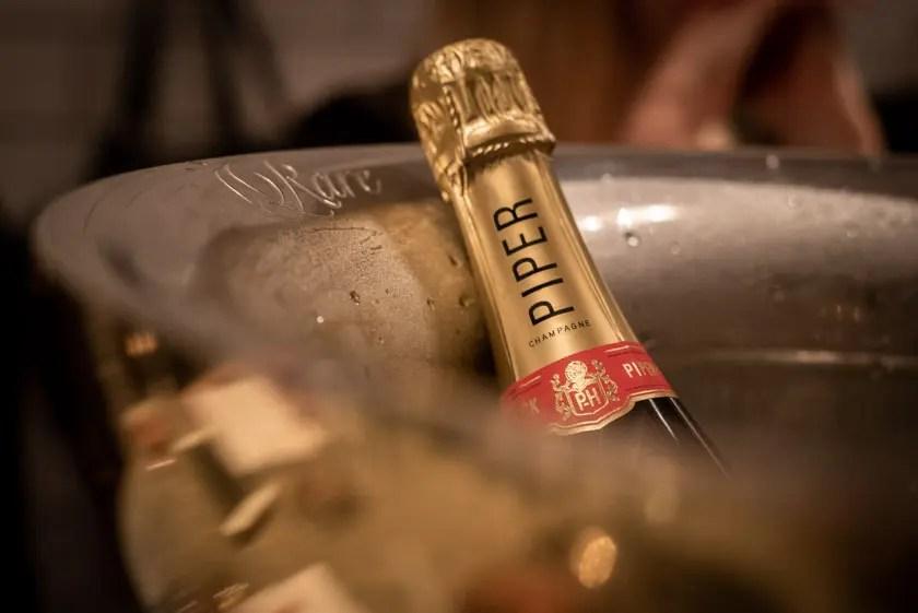 Piper Heidsieck Champagner Dinner Laxbar München