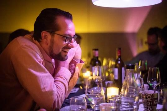 Stefan Hoffmann als perfekter Gastgeber | Foto: Monika Schreiner