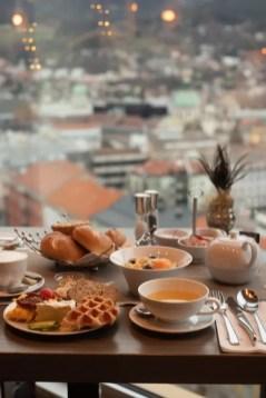 Blick dem Frühstück - das Adler | Foto: Monika Schreiner