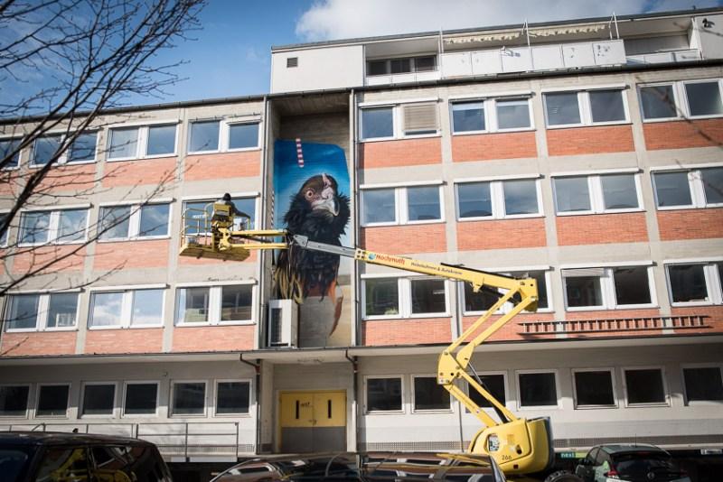 Z-Common Ground Zschokkestrasse Urbanart Munich München