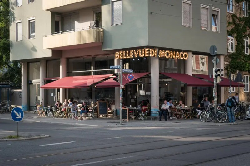 Das Cafe im Belvue di Monaco | Foto: ISARBLOG