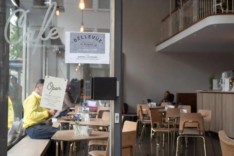 Das Cafe Bellevue di Monaco / Foto: ISARBLOG