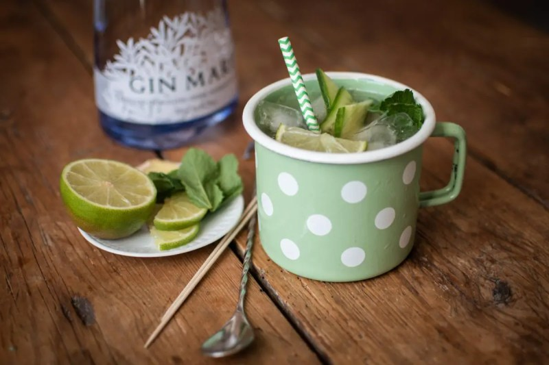 Matcha Mule mit Gin Mare und Matcha You   Foto: ISARBLOG