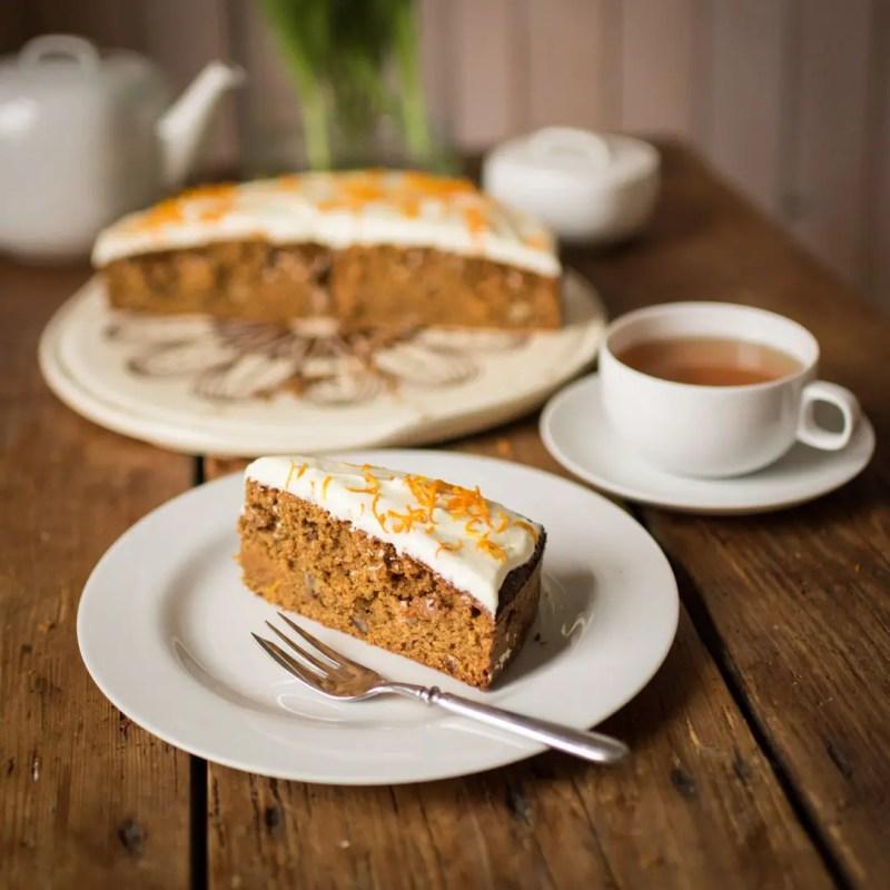 Carrot Cake mit Orange Vanilla Frosting | Foto: ISARBLOG