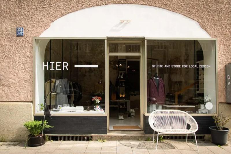 HIER Store Studio Haidhausen 2020