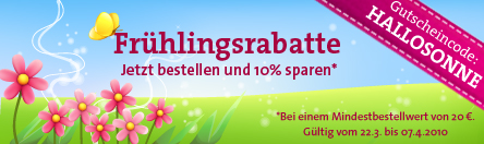 Frühlingsrabatt im Isarhunde-Spreadshirt-Shop