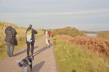 Wanderung entlang der Horsmeertjes