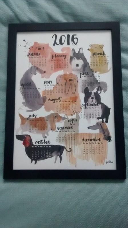 Dog lovers 2016 calendar von cinziazenocchini