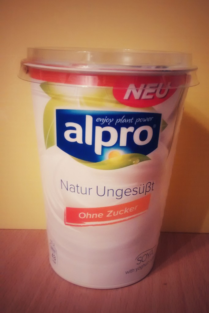 Alpro Sojajoghurt Natur ungesüßt