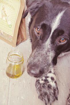 Mika probiert das Goldrausch-Öl