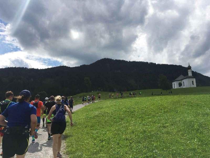 Trailrun Start Achensee