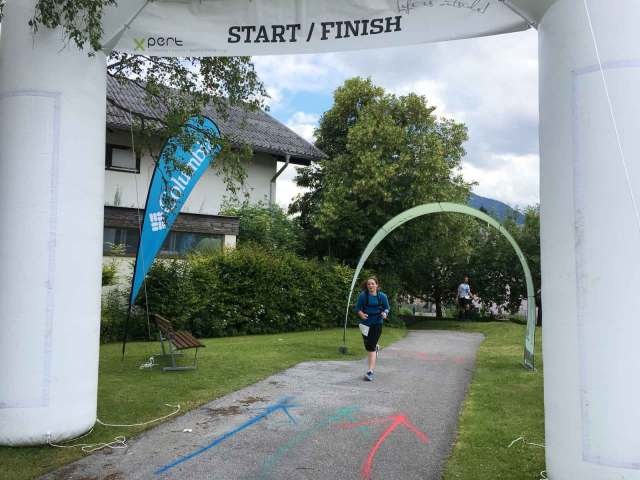 Achensee Trail Hero Finish